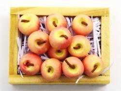 Cagette de pommes miniature - 34 mm