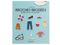 "French book "" broches brodées"""