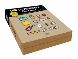 Coffret écussons - Do It Yourself - avec livre