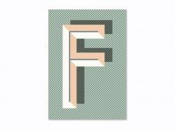 Carnet graphique - lettre F