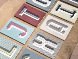 Carnet graphique - lettre H