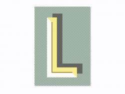 Carnet graphique - lettre L