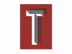 Carnet graphique - lettre T