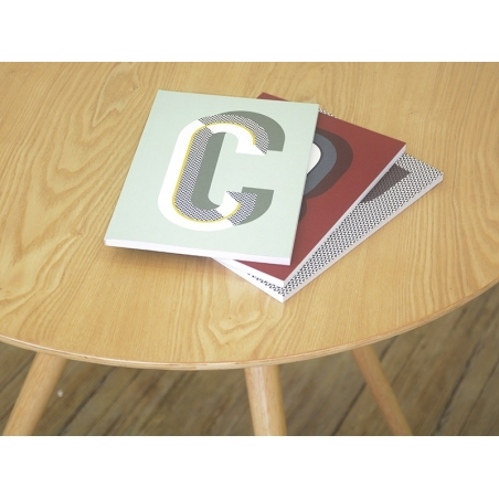 Graphic notebook - letter W