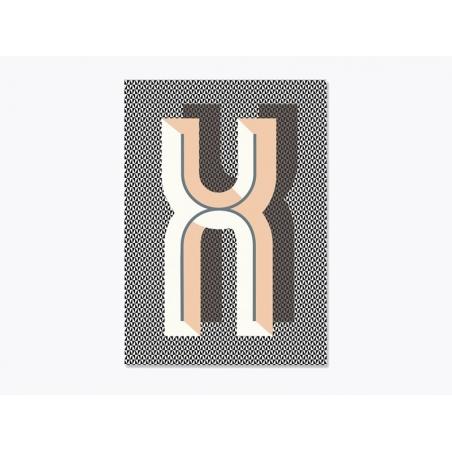 Acheter Carnet graphique - lettre X - 7,50€ en ligne sur La Petite Epicerie - 100% Loisirs créatifs