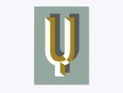 Acheter Carnet graphique - lettre Y - 7,50€ en ligne sur La Petite Epicerie - Loisirs créatifs