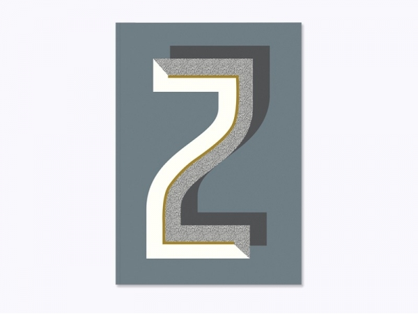 Graphic notebook - letter Z
