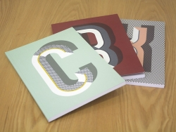 Graphic notebook - letter X
