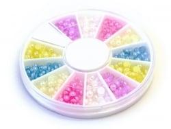 Acheter Boite de mini cabochons ronds pastels - 3 mm - 4,50€ en ligne sur La Petite Epicerie - 100% Loisirs créatifs