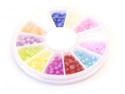 Acheter Boite de mini cabochons ronds - 3 mm - 4,50€ en ligne sur La Petite Epicerie - 100% Loisirs créatifs