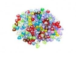 Acheter Lot de 50 perles coeur et diamant - 2,99€ en ligne sur La Petite Epicerie - 100% Loisirs créatifs