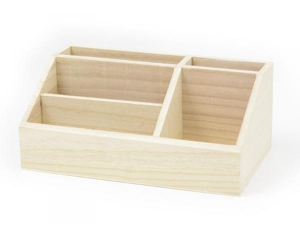 Acheter Organiseur en bois à customiser - 9,80€ en ligne sur La Petite Epicerie - 100% Loisirs créatifs