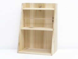 Customisable wooden shelf