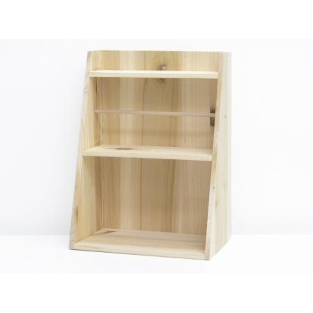 Customisable wooden shelf