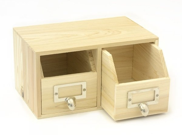 Customisable box with drawers