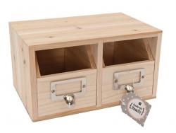 Acheter Boîte à tiroirs à customiser - 15,90€ en ligne sur La Petite Epicerie - 100% Loisirs créatifs