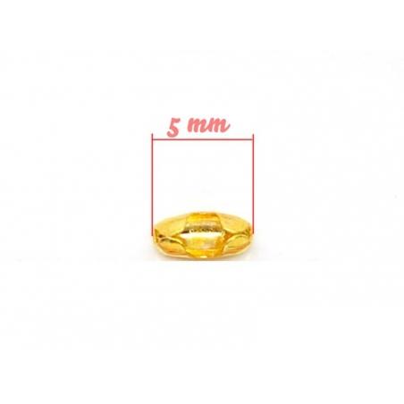 Acheter 10 fermoirs pour chaine bille 1,5mm dorées - Taille S - 1,59€ en ligne sur La Petite Epicerie - Loisirs créatifs