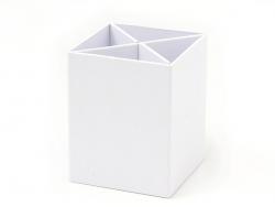 Viereckiger Stiftehalter aus Pappe zur individuellen Gestaltung