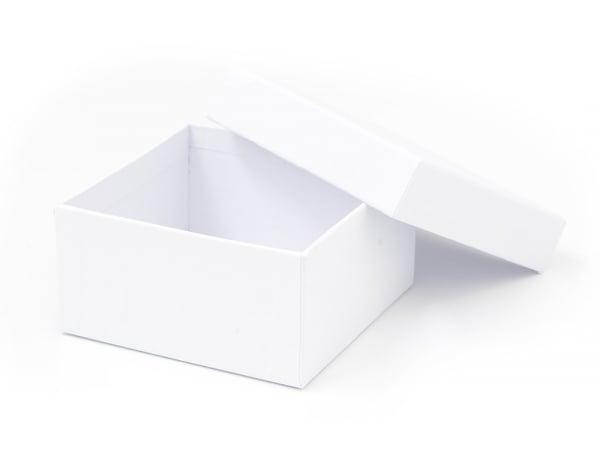 Boite carré - 9 cm - carton blanc Rico Design - 1