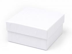 Boite carré - 9 cm - carton blanc