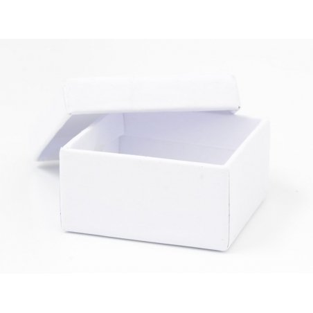 Boite carré - 9 cm - carton blanc Rico Design - 3