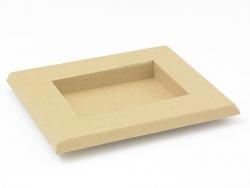 Bilderrahmen (18,5 cm x 15,2 cm) - Kraftpapier - zur individuellen Gestaltung