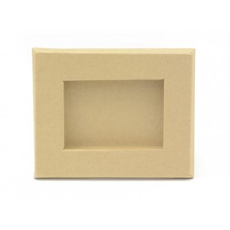 18.5 cm x 15.2 cm frame - kraft paper - customisable
