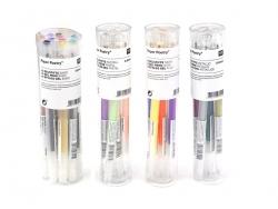 Acheter 10 stylos gel - 0,5 mm - couleurs basiques - 11,20€ en ligne sur La Petite Epicerie - Loisirs créatifs