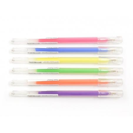 Acheter 6 stylos gel - 0,8 mm - NEON - 8,40€ en ligne sur La Petite Epicerie - Loisirs créatifs