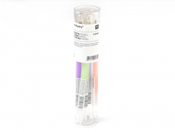 6 gel stylos - 0.8 mm - Pastel