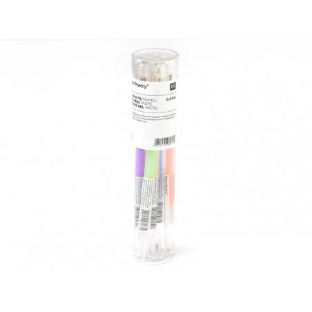Acheter 6 stylos gel - 0,8 mm - PASTEL - 8,40€ en ligne sur La Petite Epicerie - Loisirs créatifs