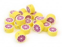 20 Grapefruitperlen