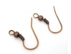 Acheter 10 paires de boucles d'oreilles cuivrées - 2,29€ en ligne sur La Petite Epicerie - Loisirs créatifs