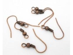 Acheter 10 paires de boucles d'oreilles cuivrées - 2,29€ en ligne sur La Petite Epicerie - 100% Loisirs créatifs