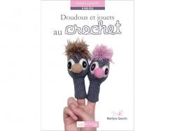 Livre Doudous et jouets au crochet - Marilyne Gauclin Créapassions - 1