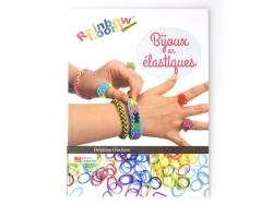 """French book """" Bijoux en élastique - Delphine Glachant"""""""