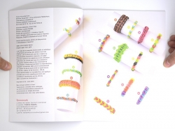 """Französisches Buch """" Bijoux en élastique - Delphine Glachant"""""""