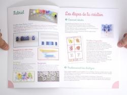 Livre Bijoux en élastique - Delphine Glachant