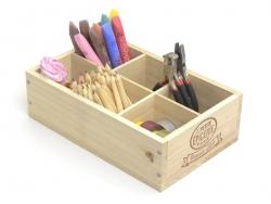 Caissette en bois La Petite Epicerie - 6 compartiments