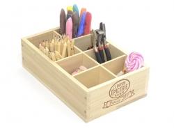 Caissette en bois La Petite Epicerie - 8 compartiments