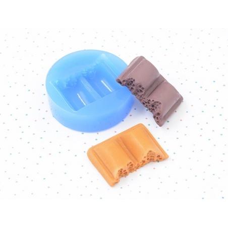 Acheter Moule en silicone - Morceau de chocolat - 3,90€ en ligne sur La Petite Epicerie - Loisirs créatifs