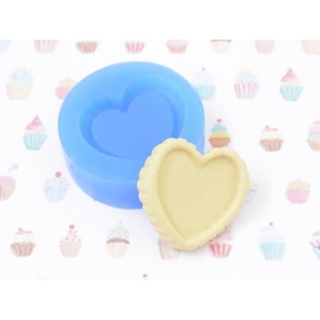 Acheter Moule en silicone - Base de tarte en coeur - 3,90€ en ligne sur La Petite Epicerie - Loisirs créatifs