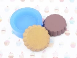 Silicone mould - round cake base