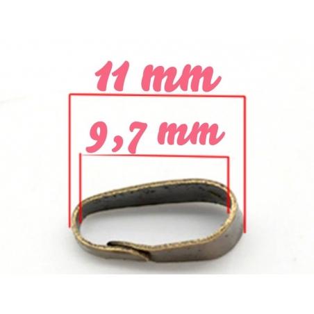 1 bélière épaisse couleur bronze  - 2
