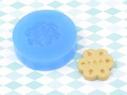 Moule en silicone - Biscuit fleur