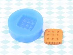 Moule en silicone - Biscuit carré