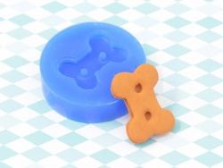 Silikonform - knochenförmiger Keks