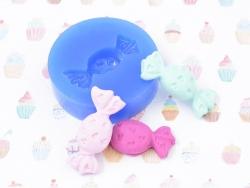 Moule en silicone - Bonbon petits coeurs