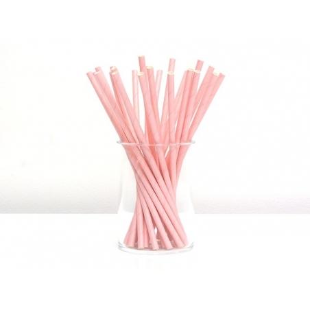 Acheter 25 Pailles en papier - roses - 4,50€ en ligne sur La Petite Epicerie - 100% Loisirs créatifs