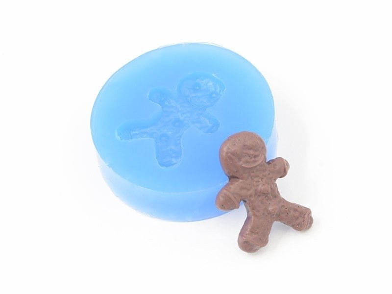 Silicone mould - gingerbread man